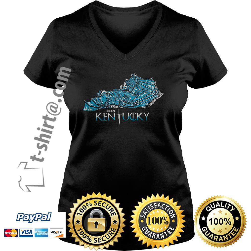 Dragon house Kentucky V-neck T-shirt