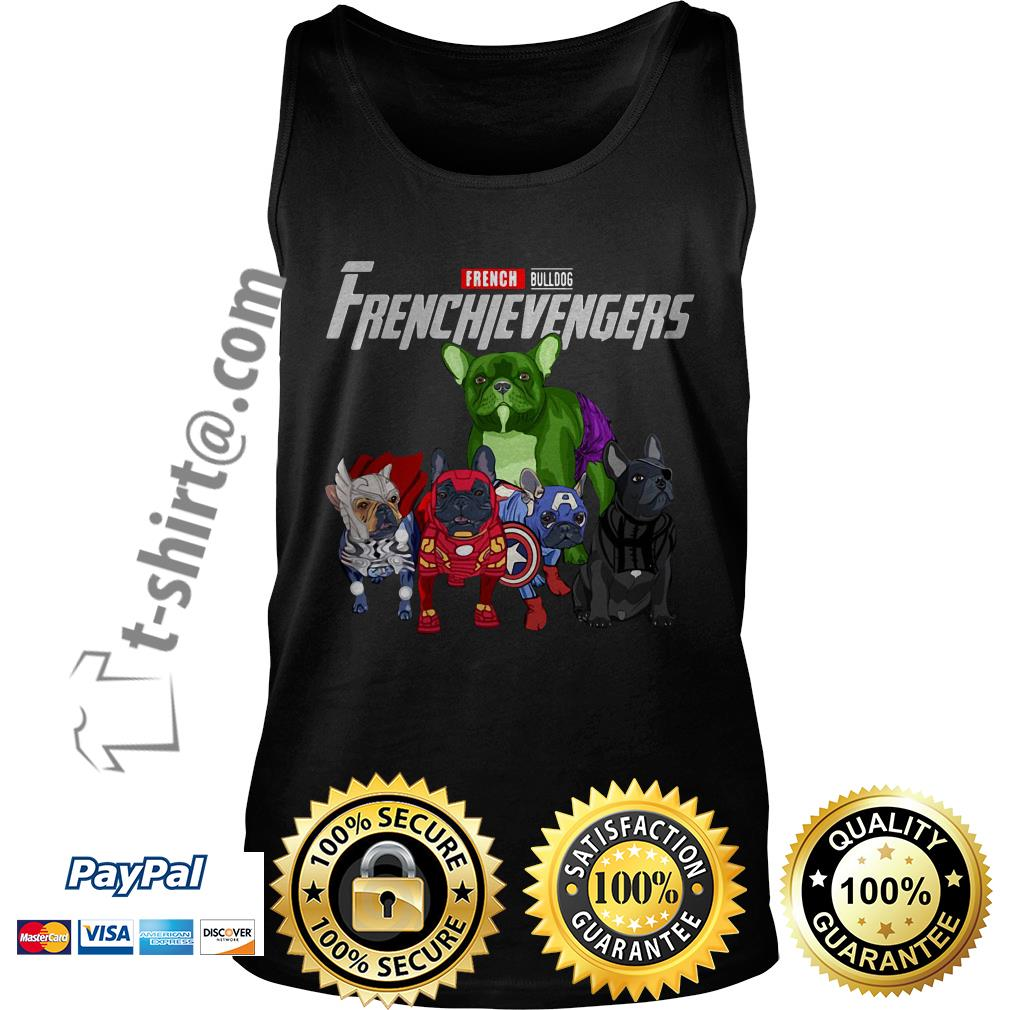 Frenchievengers French bulldog Tank top