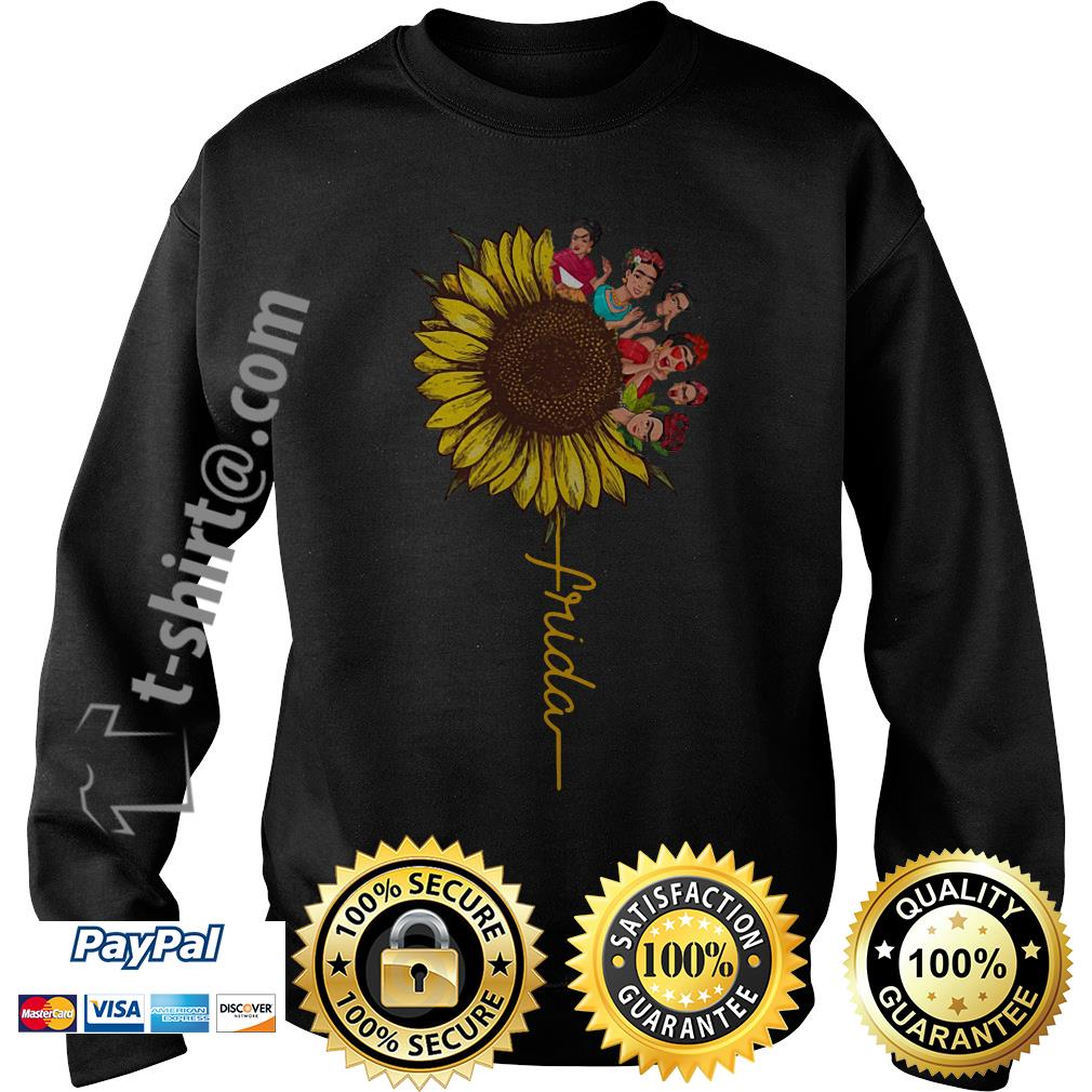 Frida Kahlo sunflower Sweater