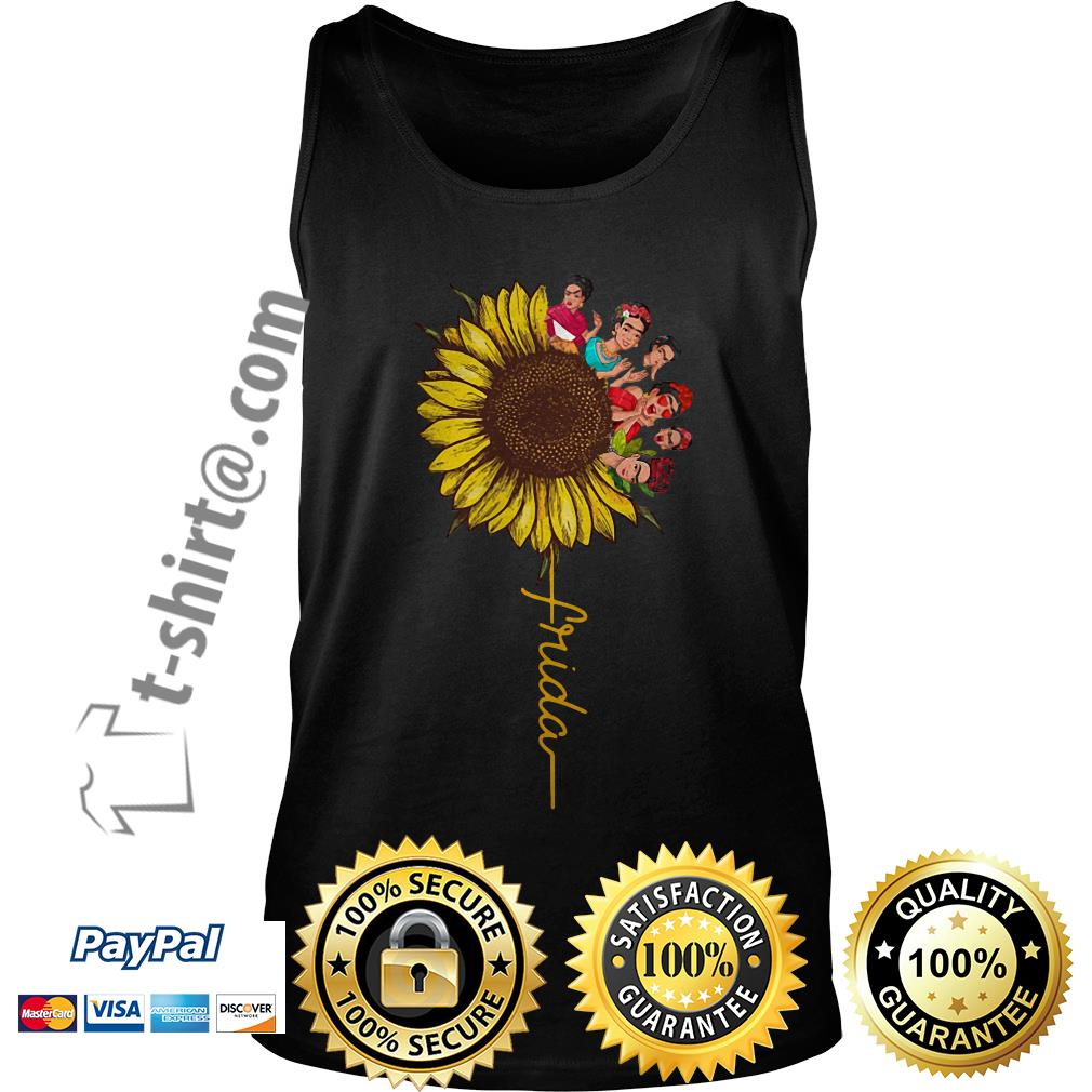Frida Kahlo sunflower Tank top