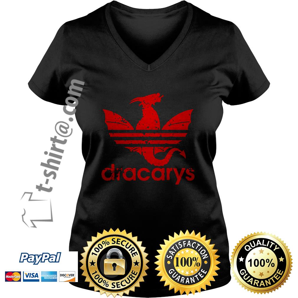 Game of Thrones Adidas Dracarys V-neck T-shirt