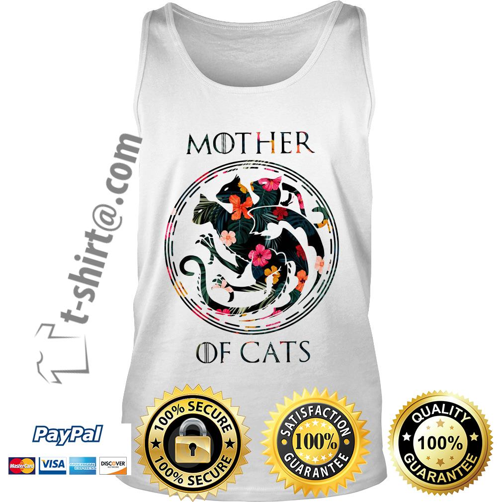 Game of Thrones mother of cats Tank top