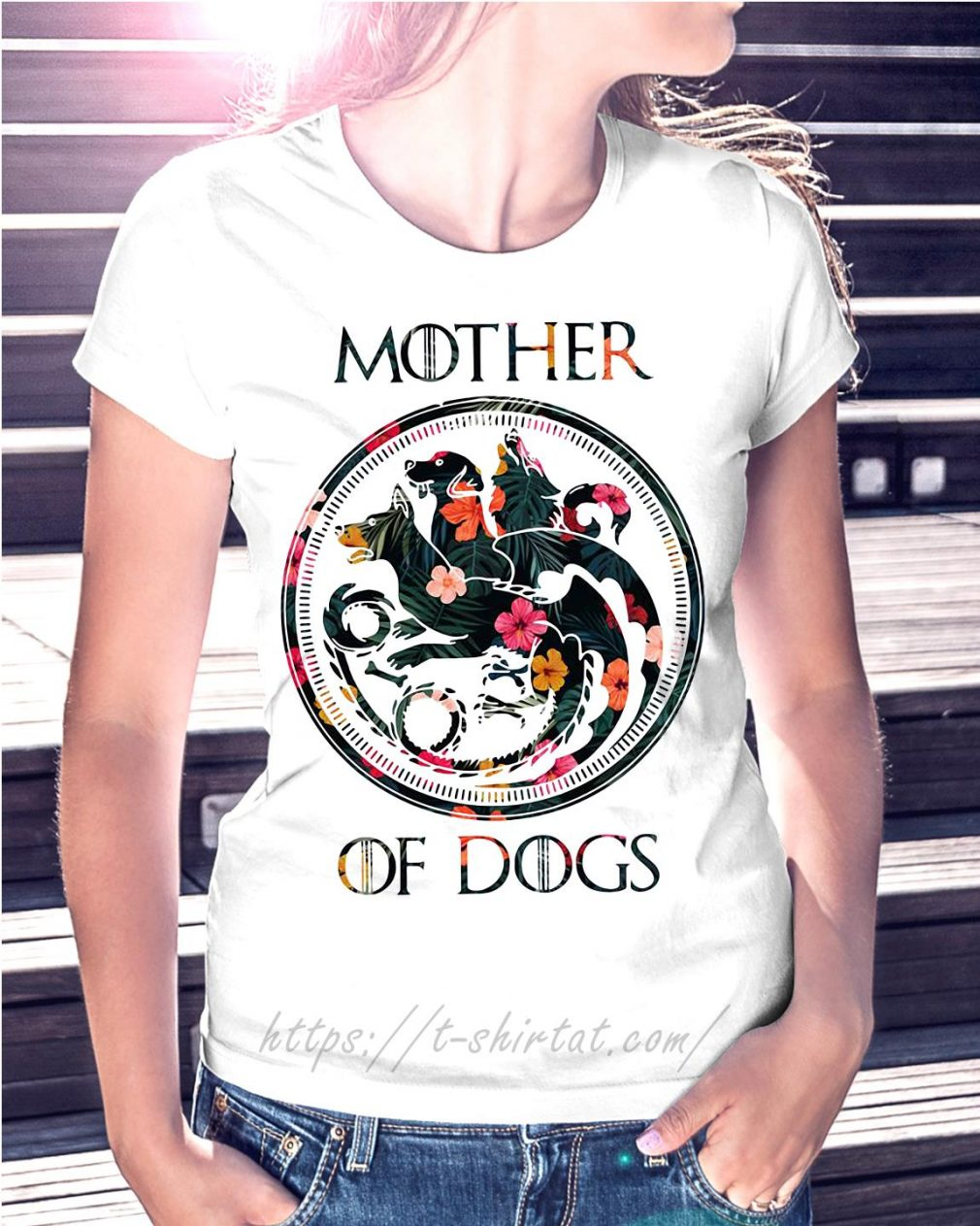 Game of Thrones mother of dogs green flower