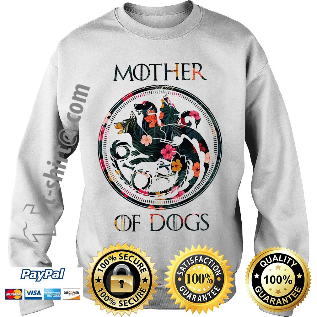 Game of Thrones mother of dogs green flower Sweater