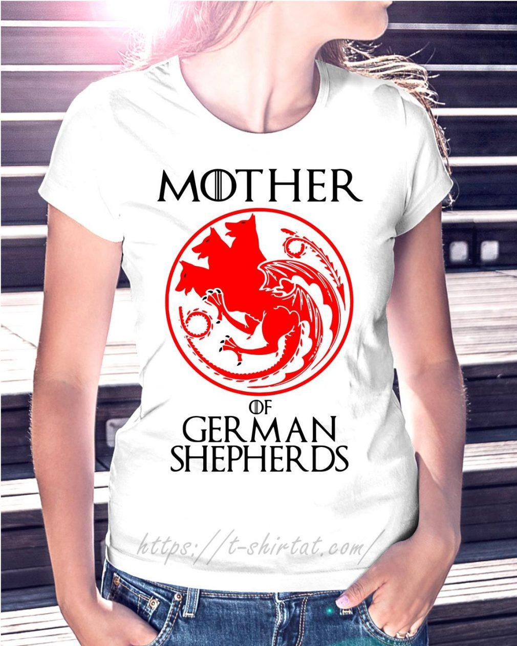 Game of Thrones mother of German shepherds