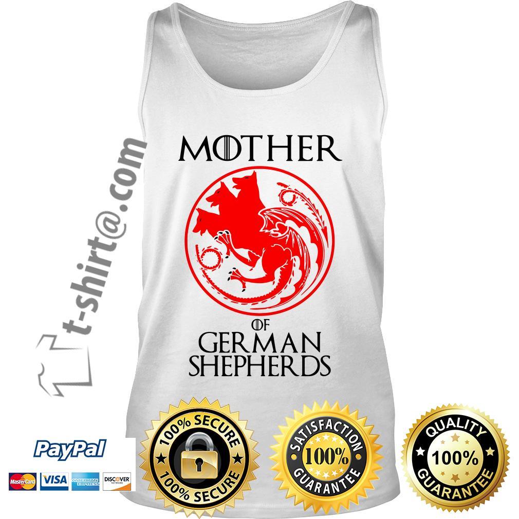 Game of Thrones mother of German shepherds Tank top