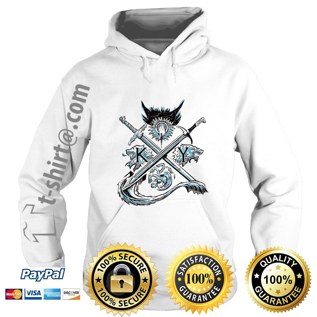 Game of Thrones house Lannister unbowed winter is coming and fire blood Hoodie