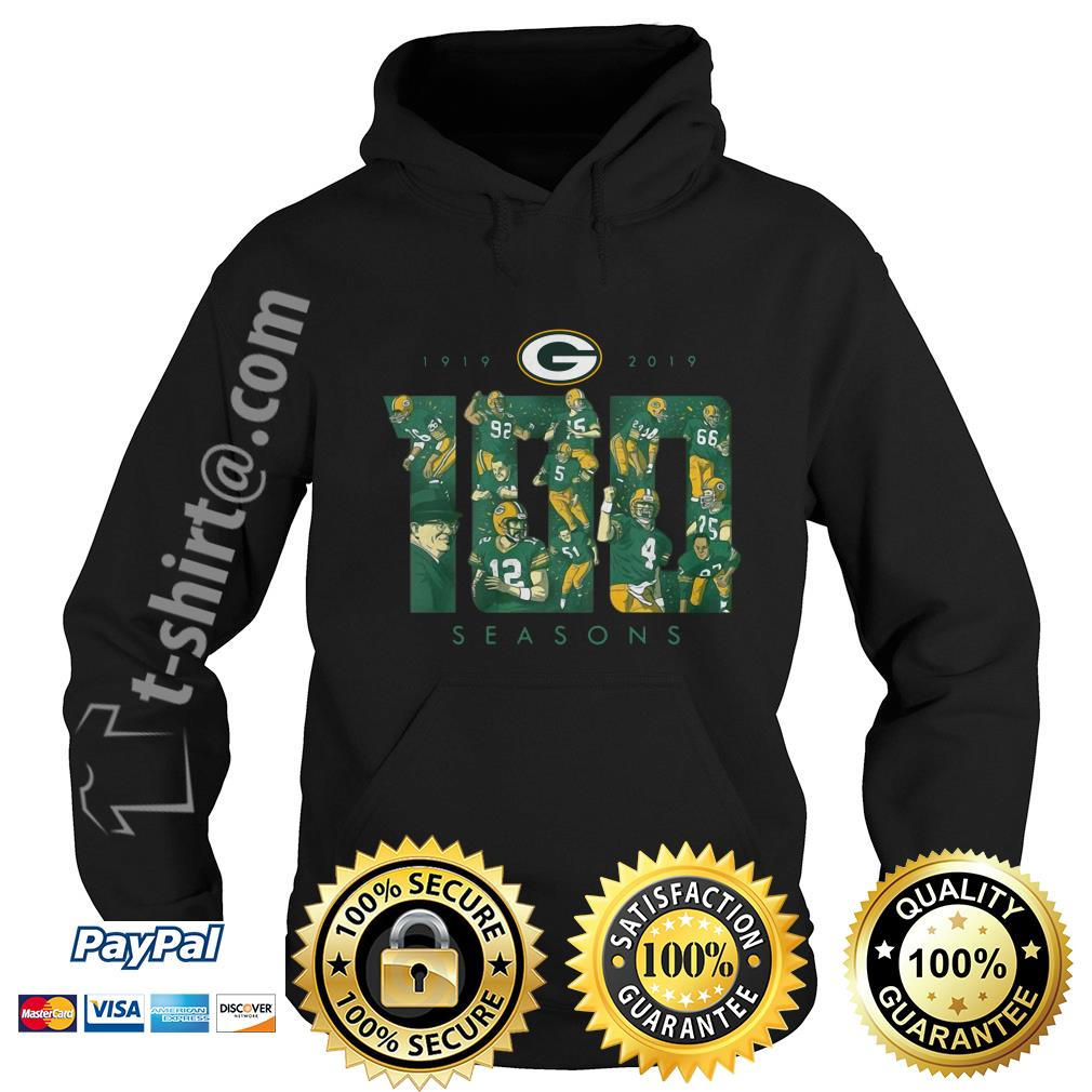 Green Bay Packers 100 seasons 1919-2019 Hoodie