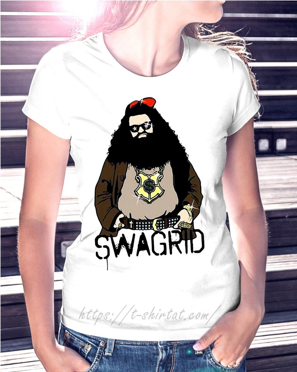 Harry Potter Swag Rubeus Hagrid Swagrid