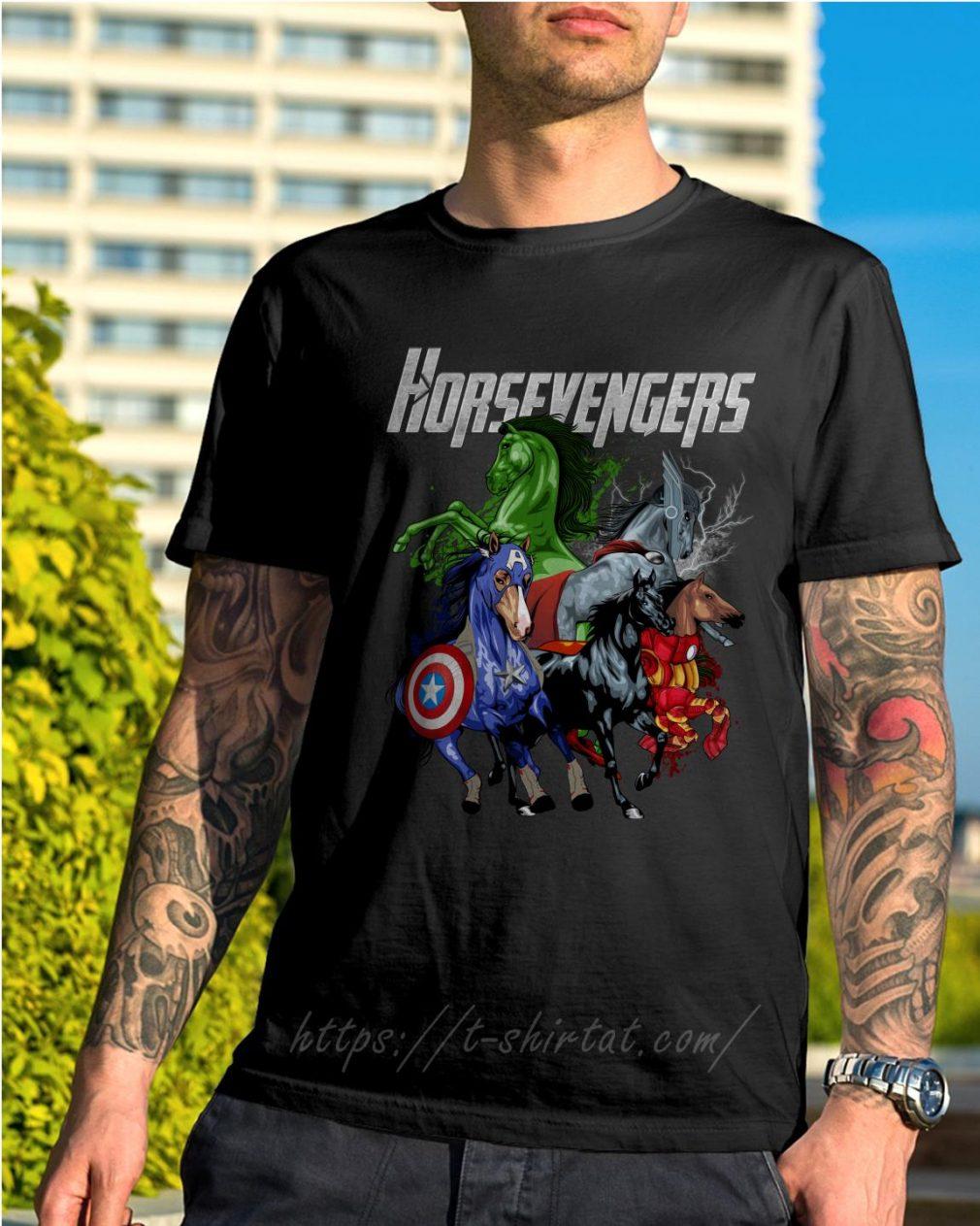 Horsevengers shirt