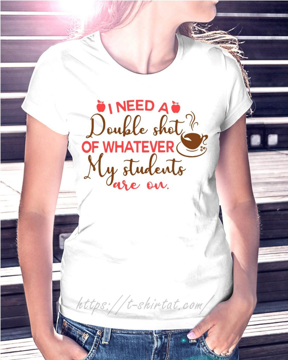 I need a double shot of whatever my students are on