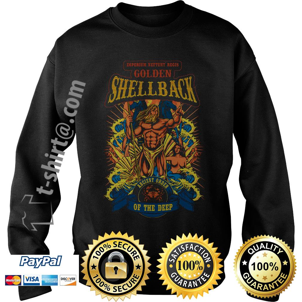 Imperium Neftunt Regis golden shellback ancient order of the deep Sweater