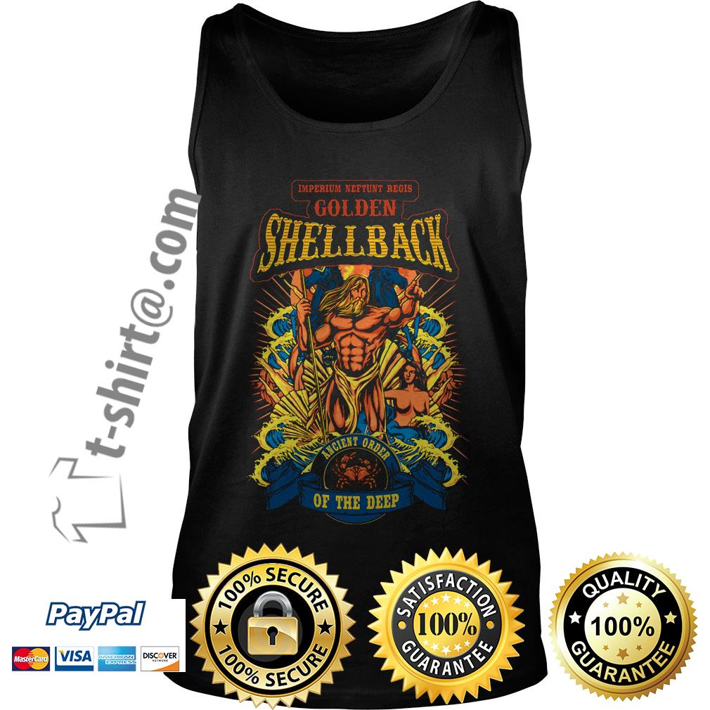 Imperium Neftunt Regis golden shellback ancient order of the deep Tank top