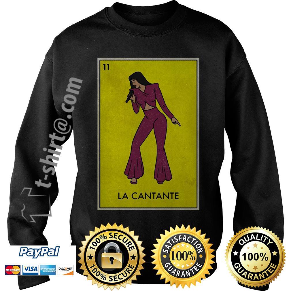 La Cantante Mexican Loteria card Sweater