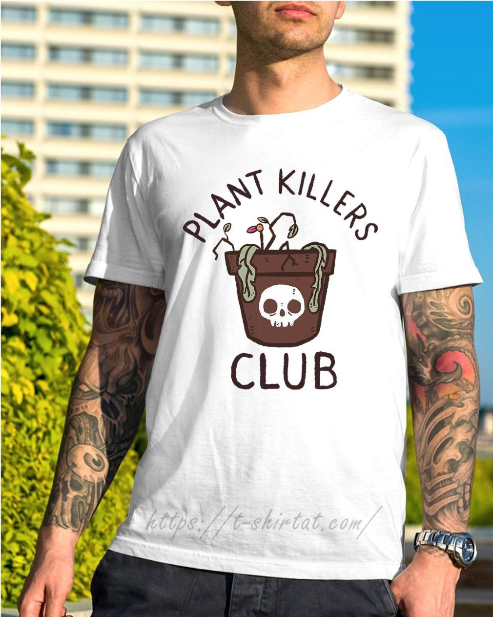 lxromero plant killers club shirt