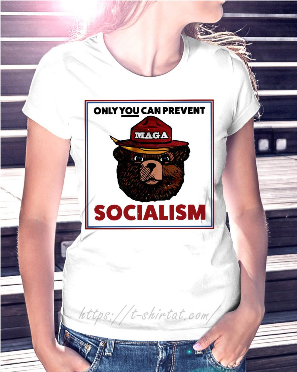Maga bear only you can prevent socialism