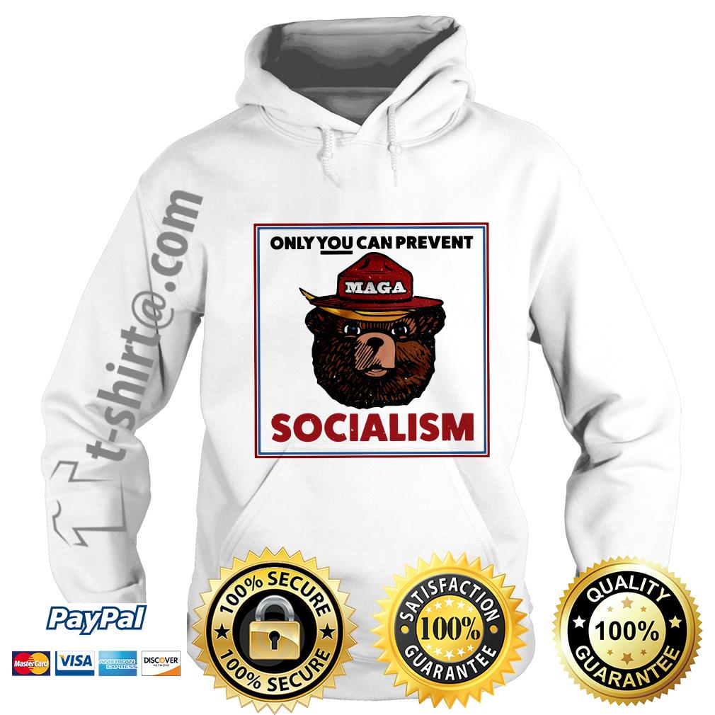 Maga bear only you can prevent socialism Hoodie