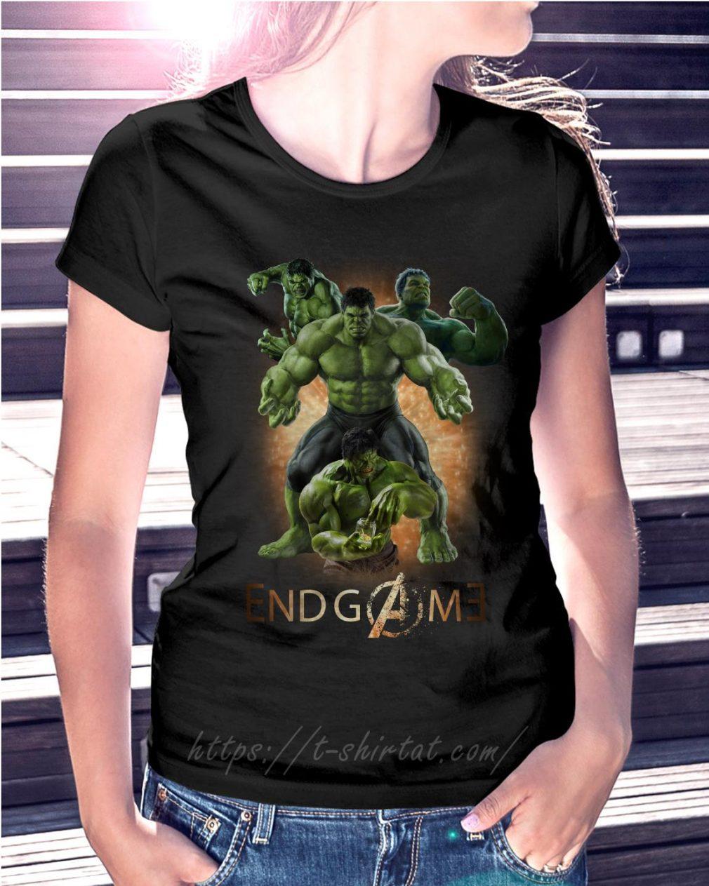 Marvel Avenger endgame Hulk poster