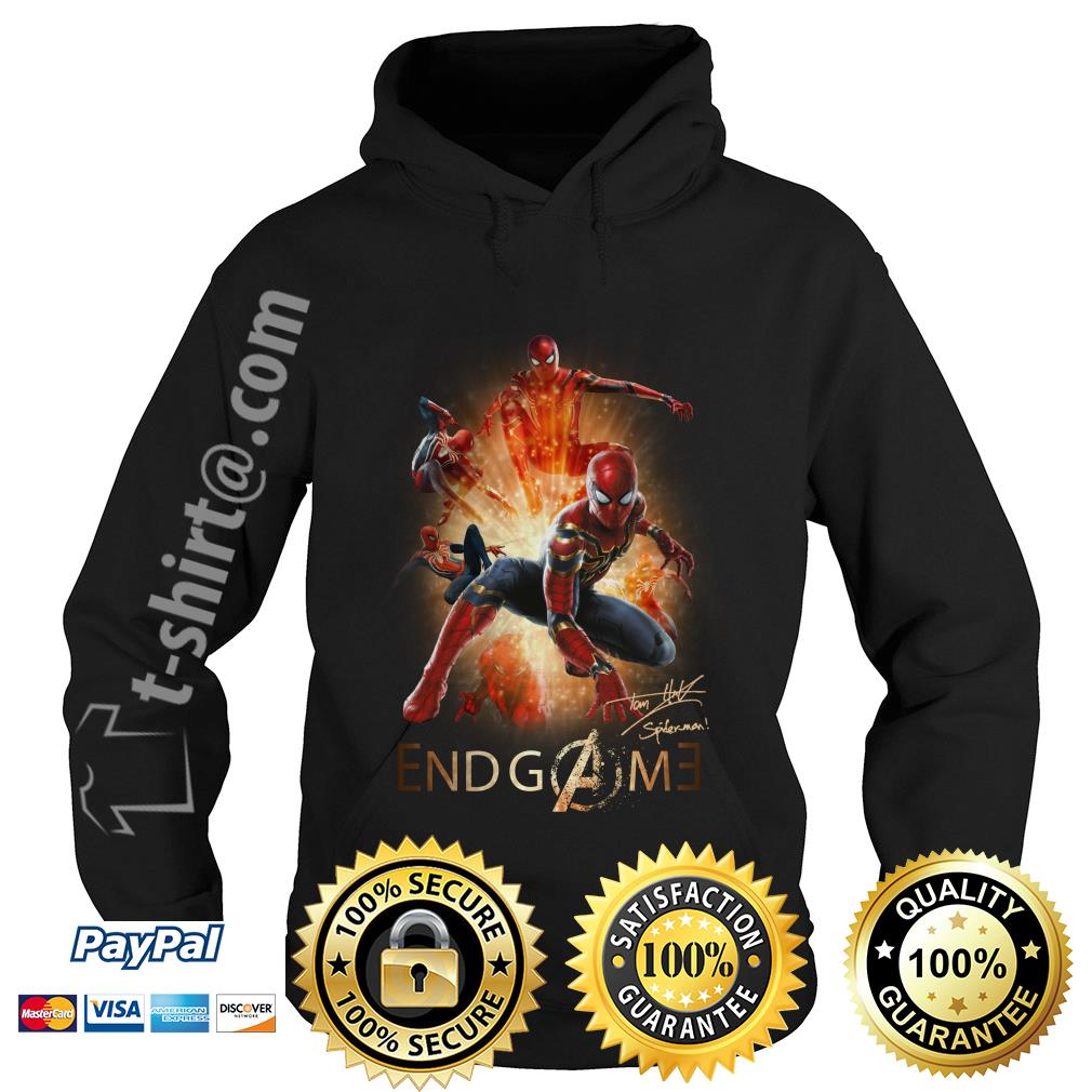 Marvel Avenger endgame Tom Holland signature Hoodie