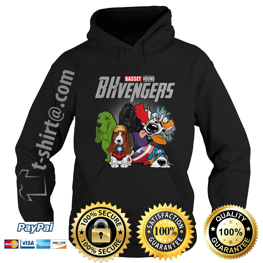 Marvel Basset hound BHvengers Hoodie