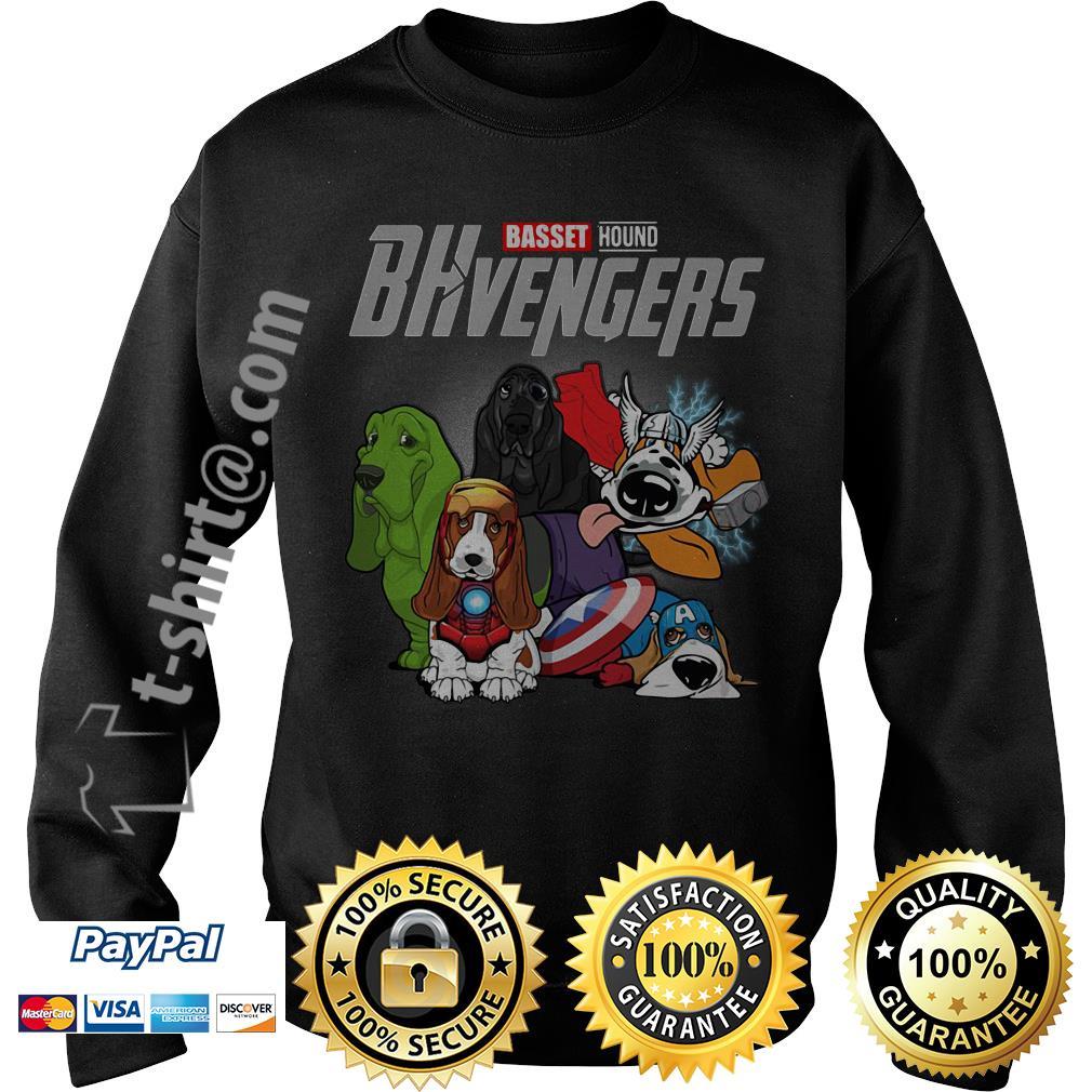 Marvel Basset hound BHvengers Sweater