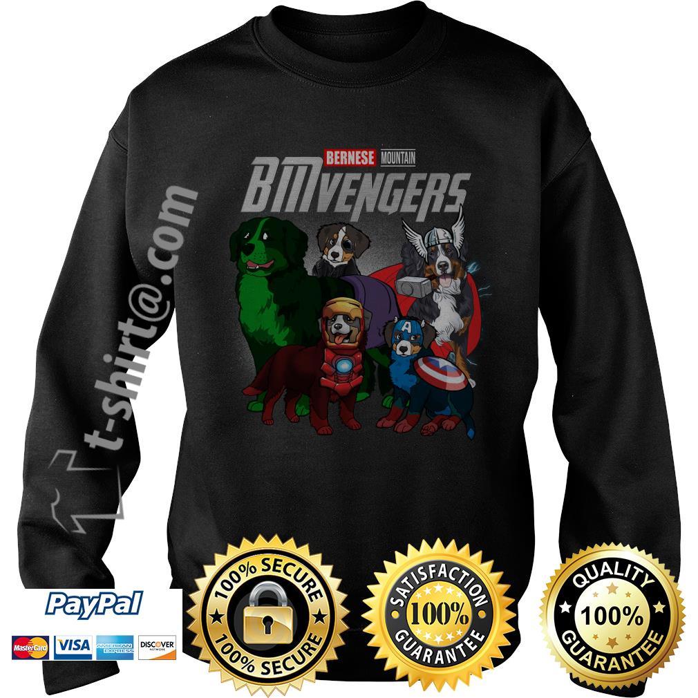 Marvel Bernese Mountain BMvengers Sweater