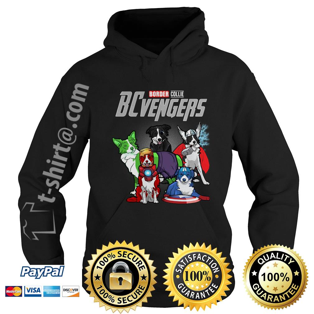 Marvel Border Collie BCvengers Hoodie