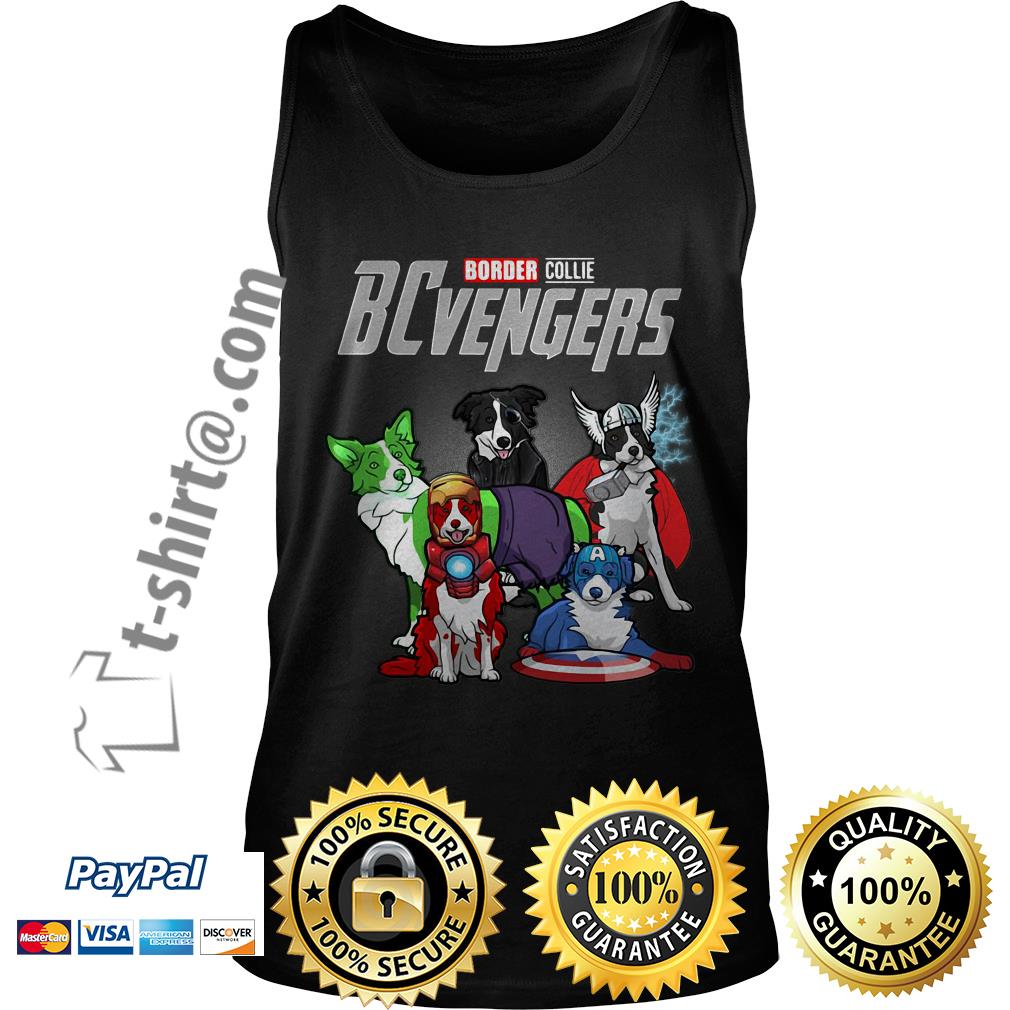 Marvel Border Collie BCvengers Tank top