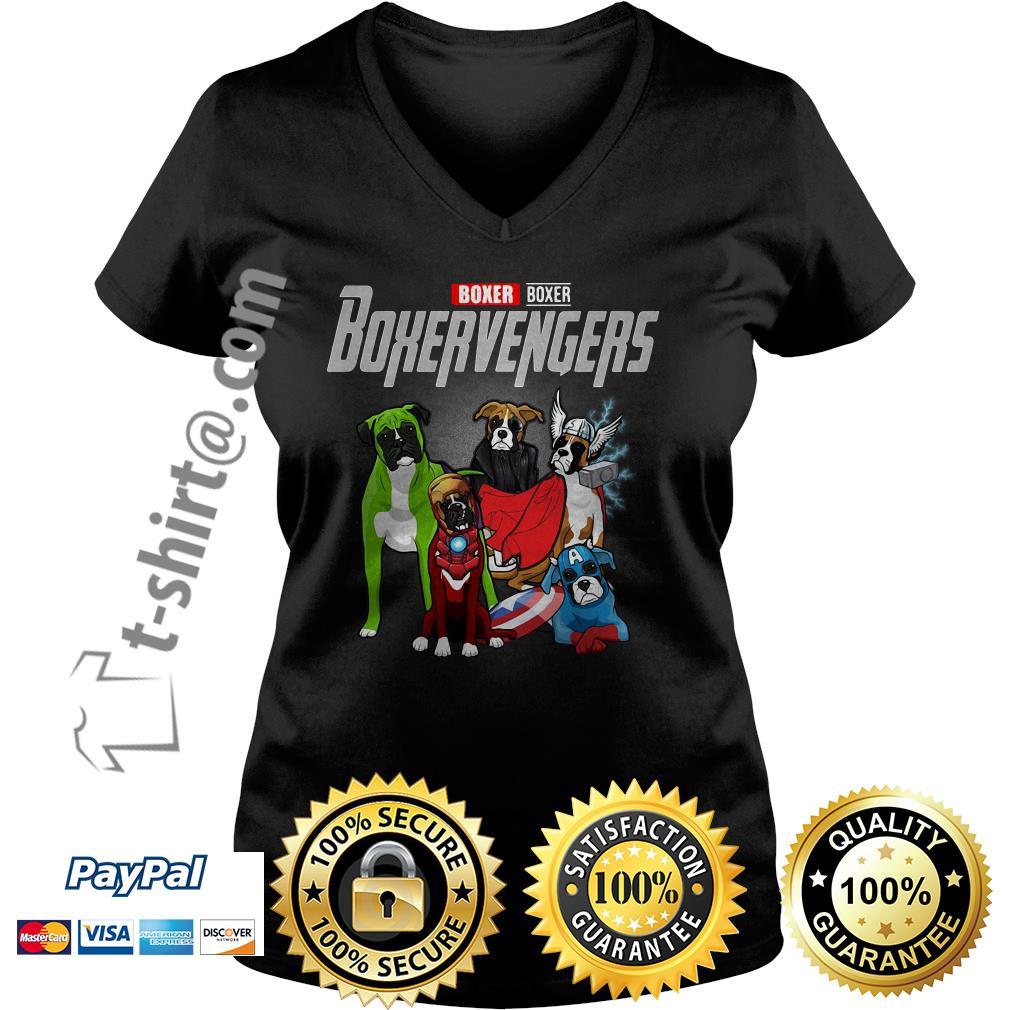 Marvel Boxer Boxervengers V-neck T-shirt