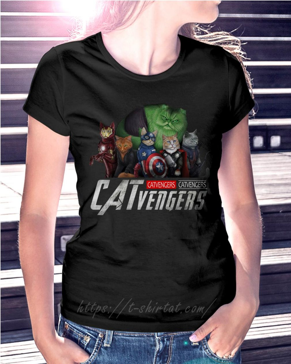 Marvel Catvengers Ladies Tee