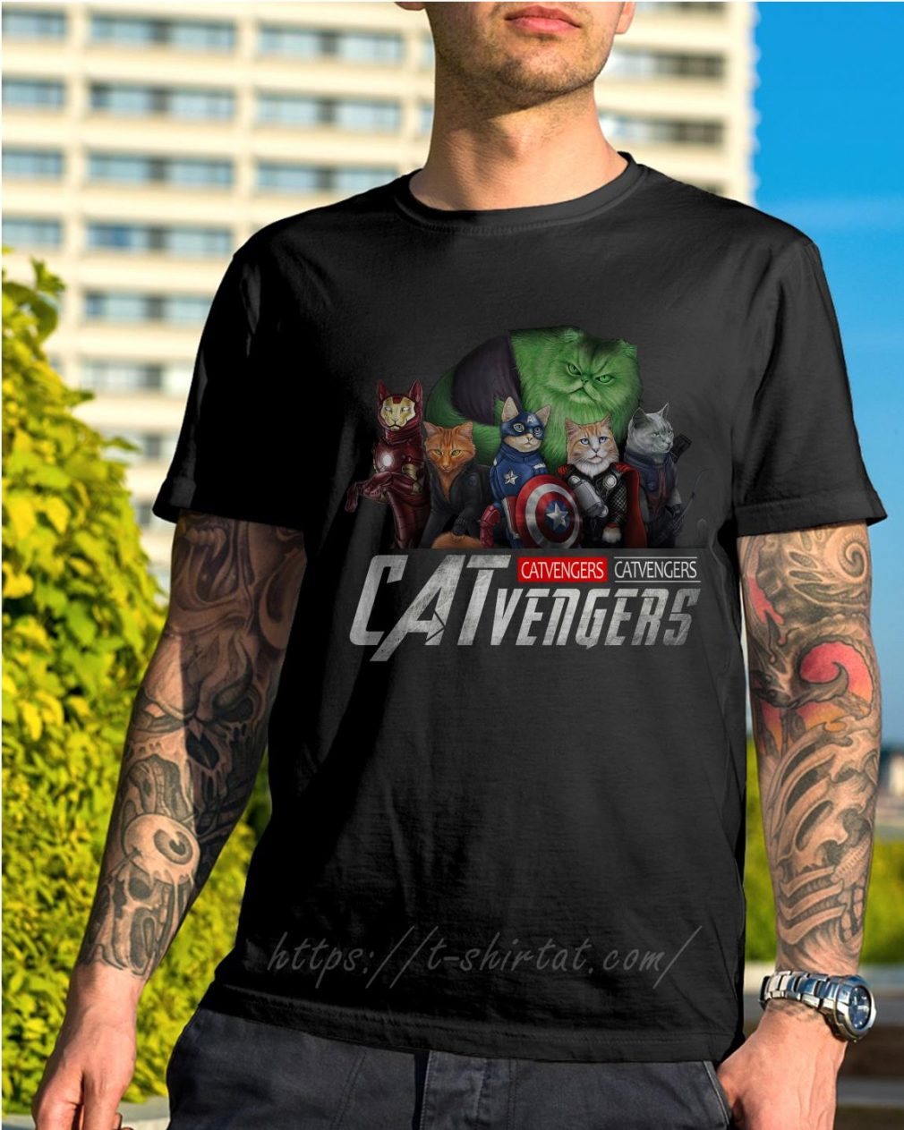 Marvel Catvengers shirt