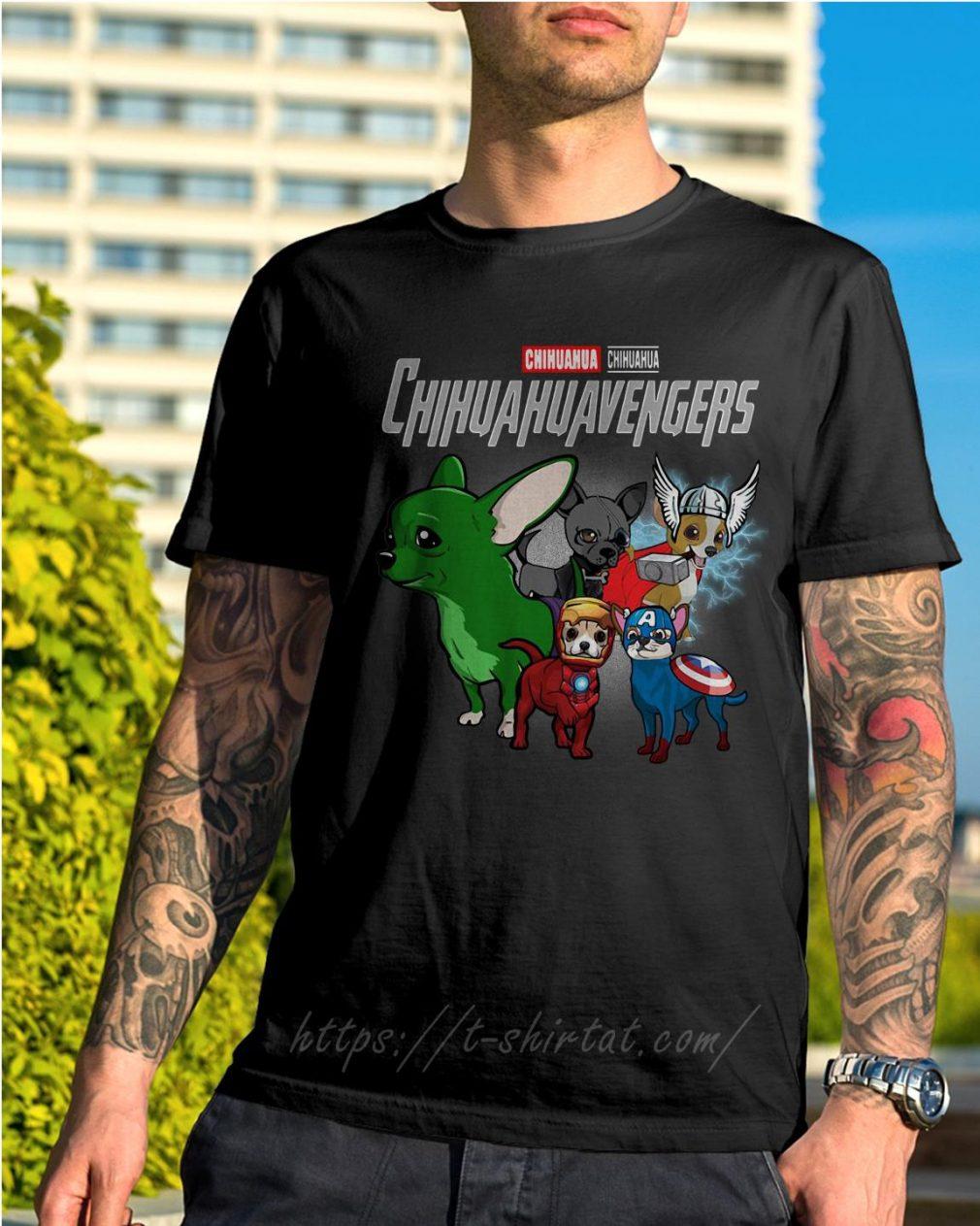 Marvel Chihuahua Chihuahuavengers shirt