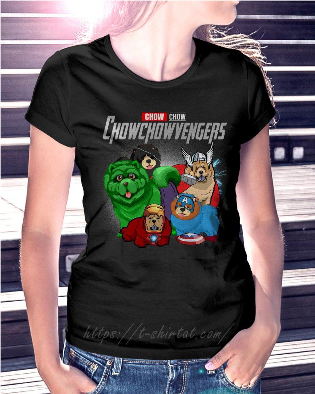 Marvel Chow Chow Chowchowvengers