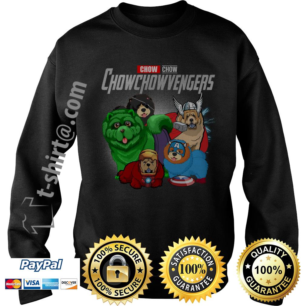 Marvel Chow Chow Chowchowvengers Sweater