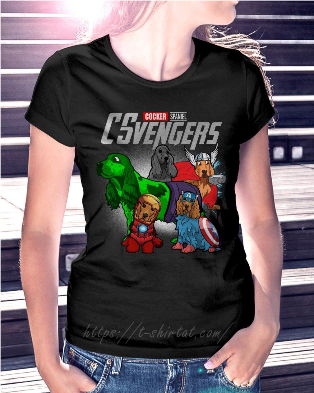 Marvel Cocker Spaniel CSvengers