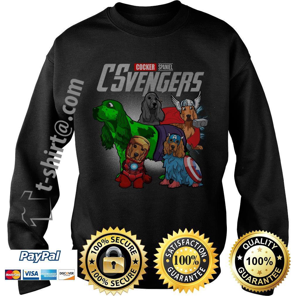 Marvel Cocker Spaniel CSvengers Sweater