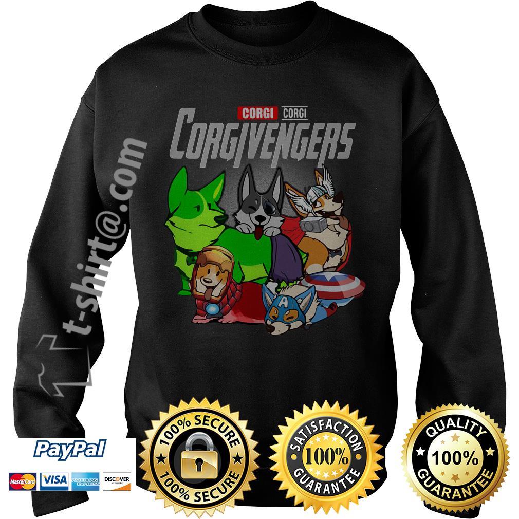 Marvel corgi Corgivengers Sweater