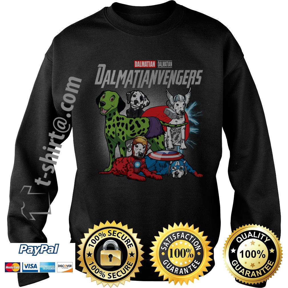 Marvel Dalmatian Dalmatianvengers  V-neck T-shirt
