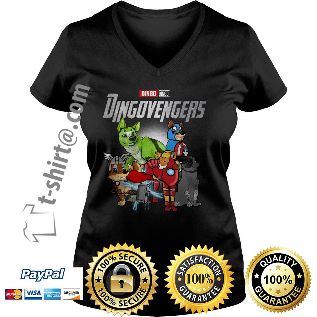 Marvel Dingo Dingovengers V-neck T-shirt