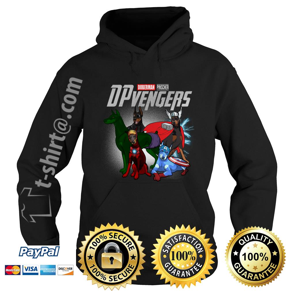 Marvel Doberman Pinscher DPvengers Hoodie