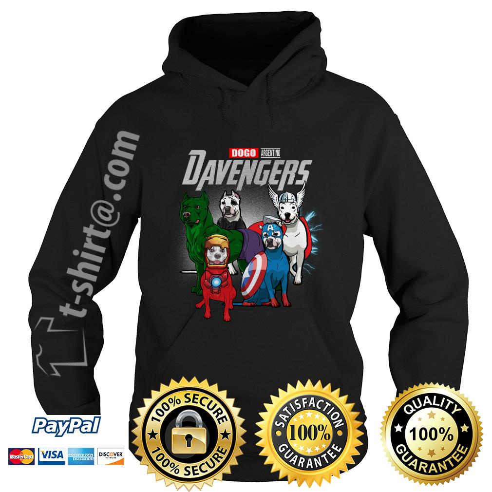 Marvel Dogo Argentino DAvengers Hoodie