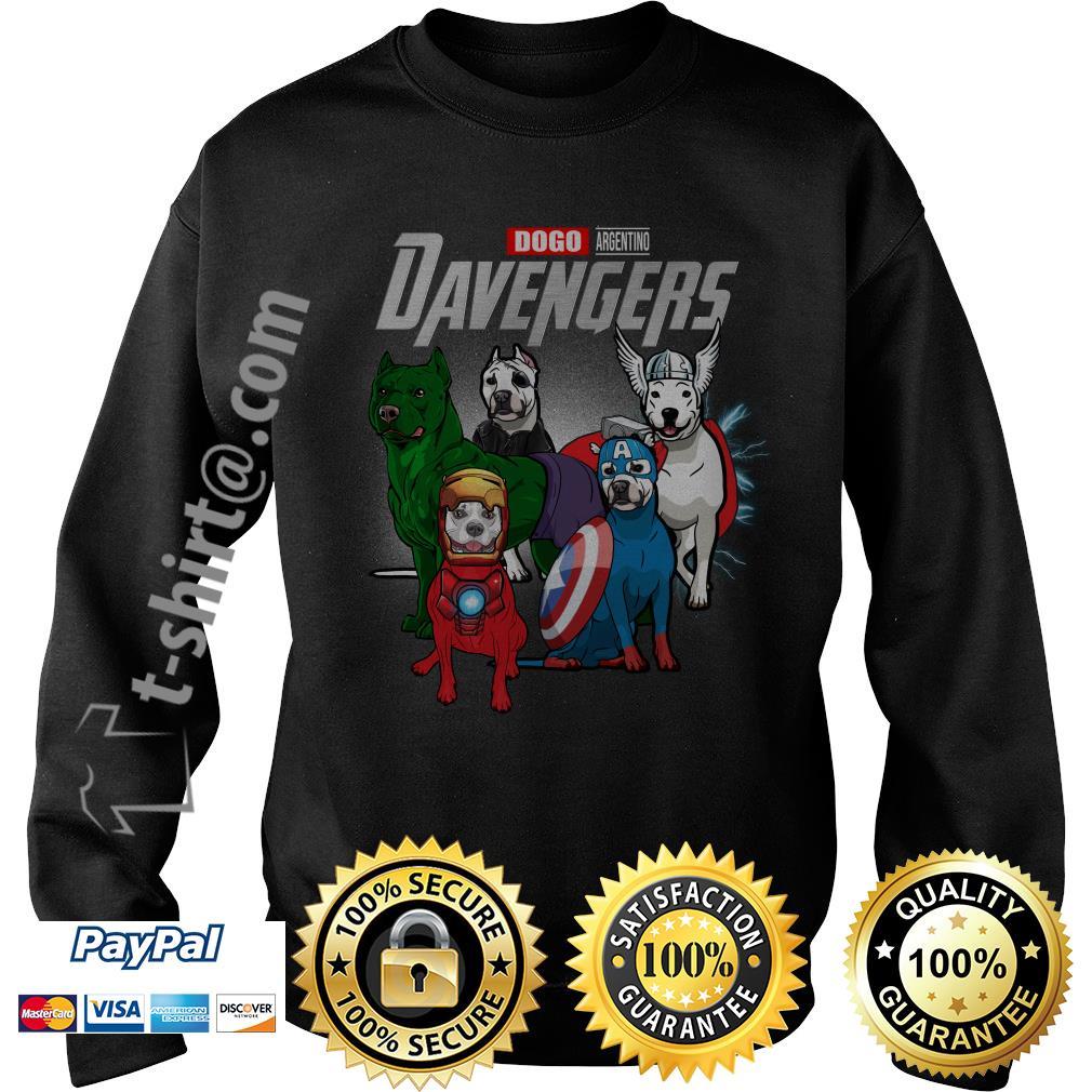 Marvel Dogo Argentino DAvengers Sweater