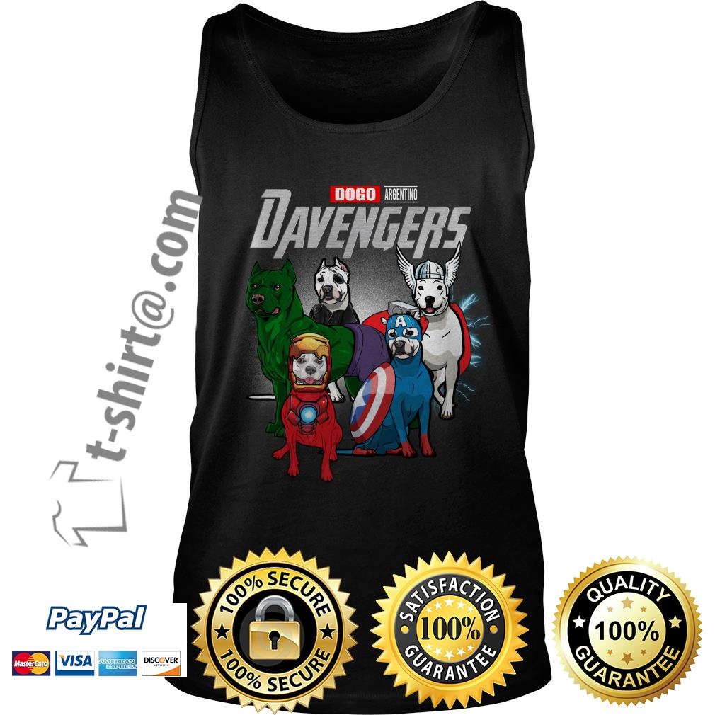 Marvel Dogo Argentino DAvengers Tank top
