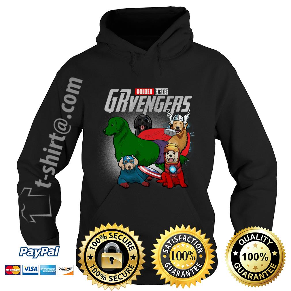 Marvel Golden Retriever GRvengers Hoodie