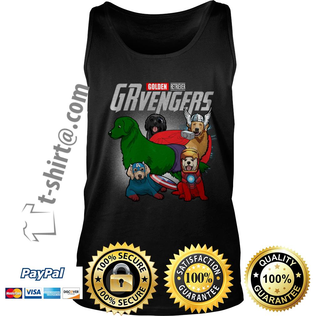 Marvel Golden Retriever GRvengers Tank top