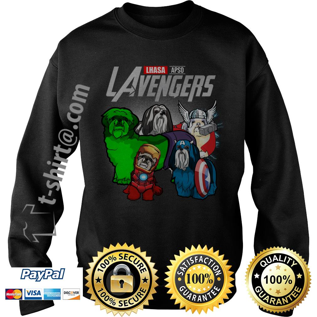 Marvel Lhasa Apso LAvengers Sweater