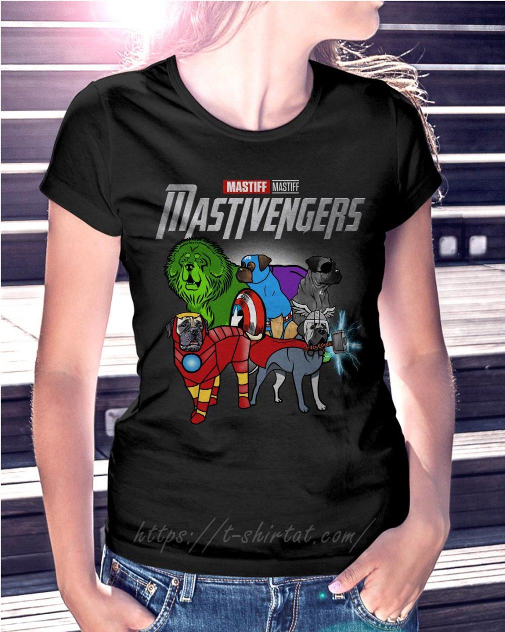 Marvel Mastiff Mastivengers Ladies Tee
