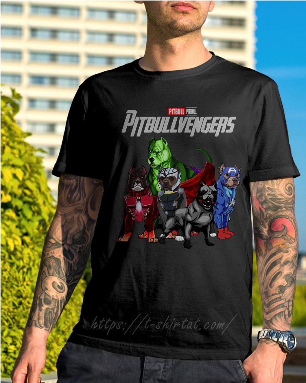 Marvel pitbull Pitbullvengers shirt