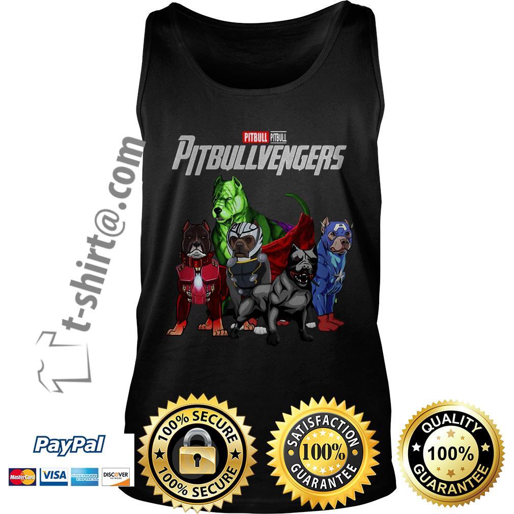 Marvel pitbull Pitbullvengers Tank top