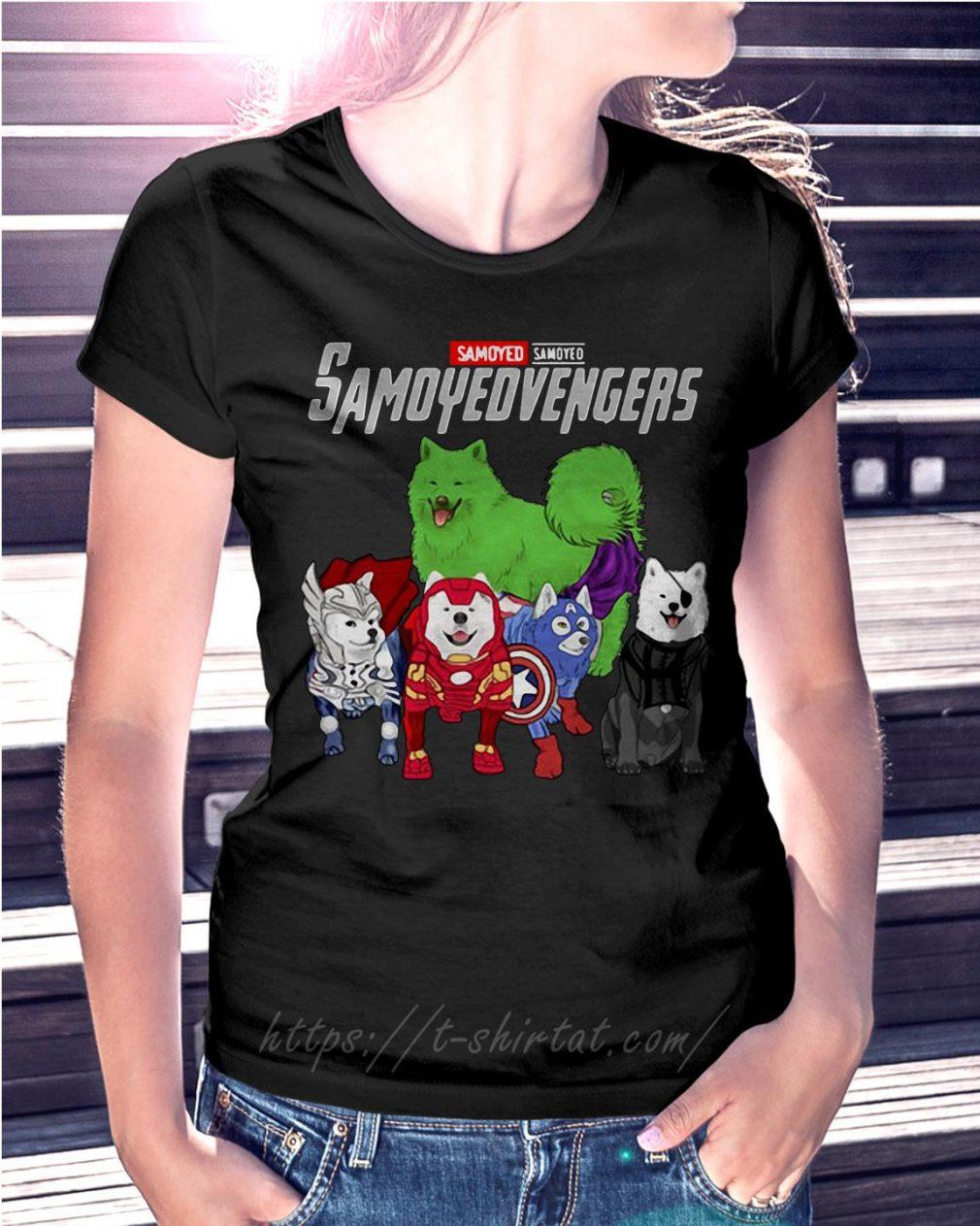 Marvel Samoyed Samoyedvengers